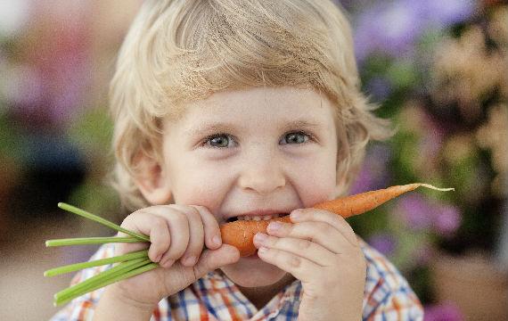 Gesund essen: so machen Sie Ihrem Kind Gemüse schmackhaft