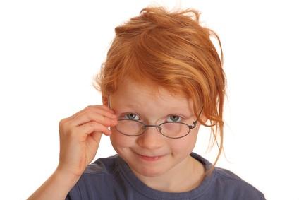 Wenn Kinder an Sehschwächen leiden