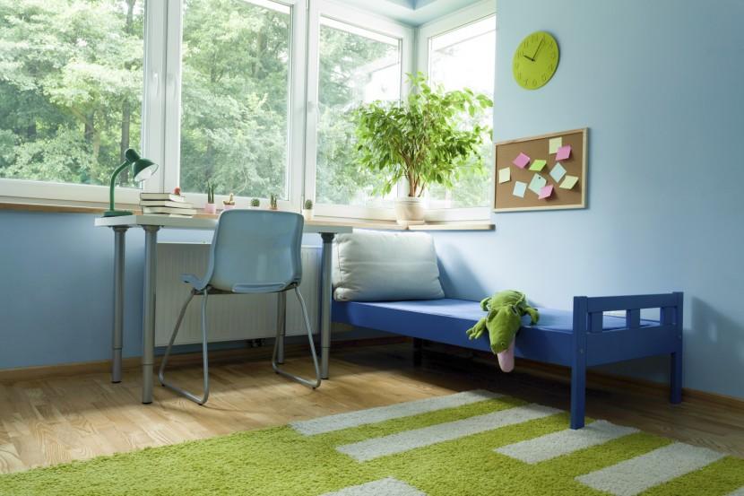 Fünf Tipps: So halten Sie das Kinderzimmer kühl