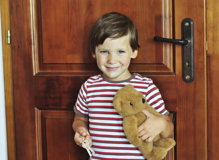 Kinder allein zu Haus – so geht es los