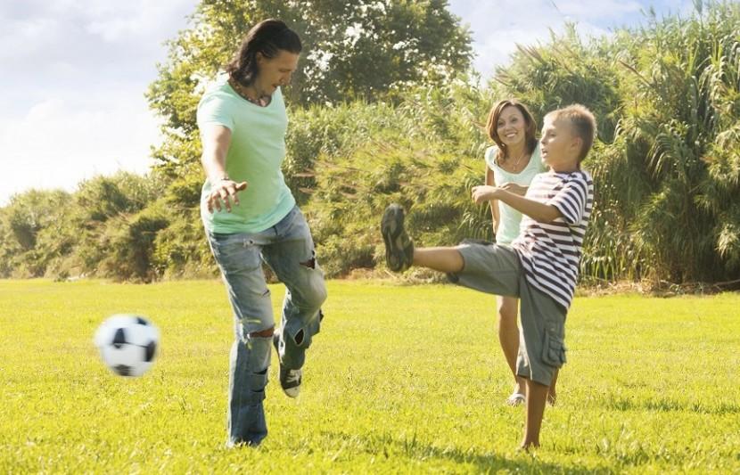Für die ganze Familie: Spiele im Freien