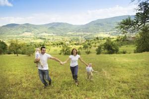 Raus in die Natur - Frühling mit Kindern