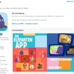 """""""Die Sendung mit dem Elefanten"""": Jetzt als App für die Kleinen"""