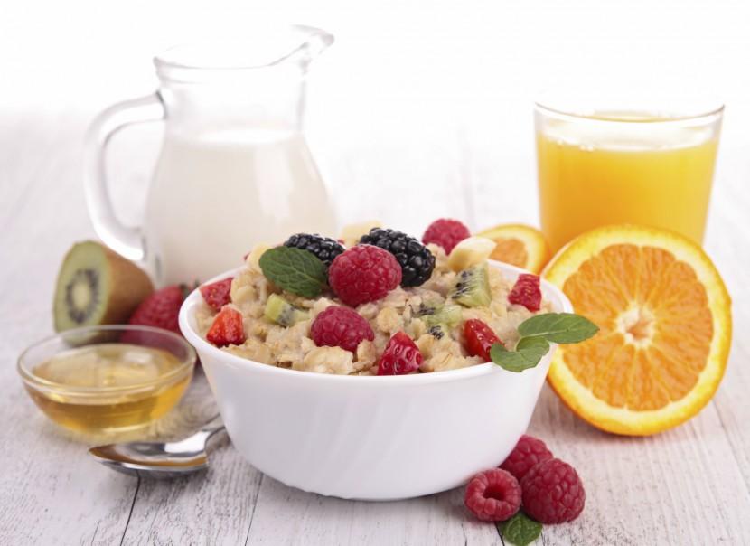 Gesundes Frühstück für die ganze Familie