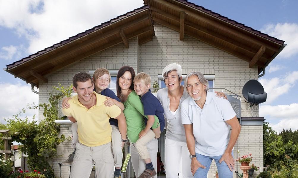Leben in der Großfamilie – Vor- und Nachteile des Mehrgenerationenhaushalts