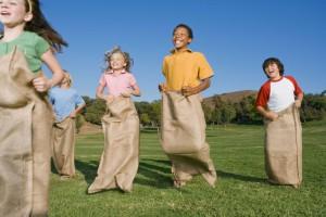 Outdoorspass ist für die Kleinen das Groesste!