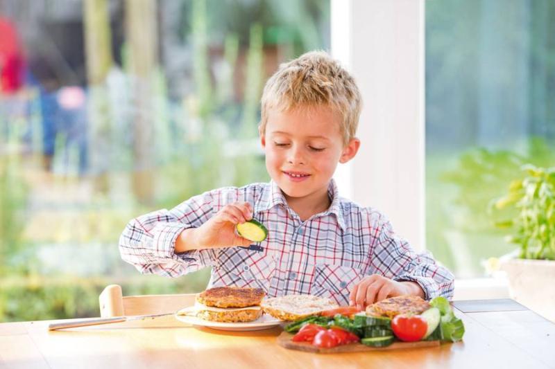 Gesunde Ernährung, die Kindern schmeckt
