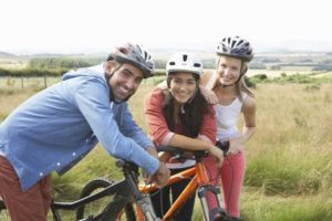 Fahrradhelme als Lebensretter