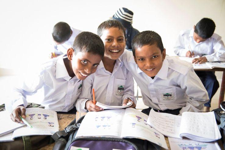 Werbung: Bildung für Bangladesch – Helfen Sie mit!
