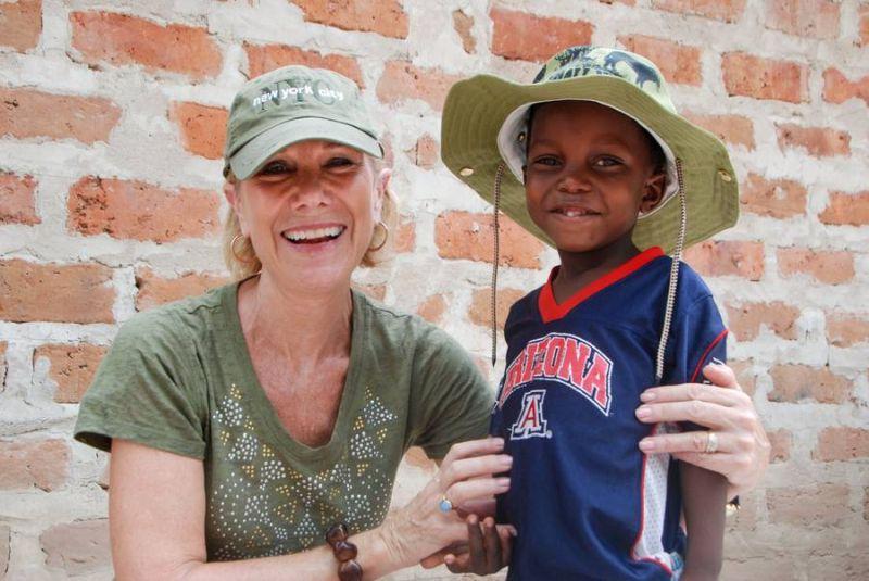 Zum Patenkind um die Welt reisen