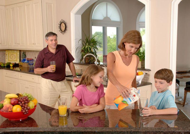 Eine Küchenarmatur für die ganze Familie